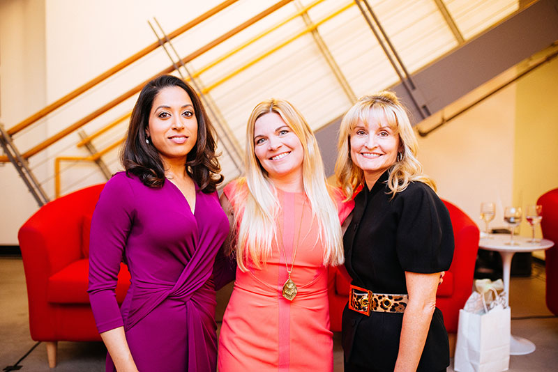 Dr. Seema Yasmin, Molly Cain, Dana Brown. Photo by Josh Blaylock.