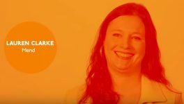 Watch: Lauren Clarke With Mend