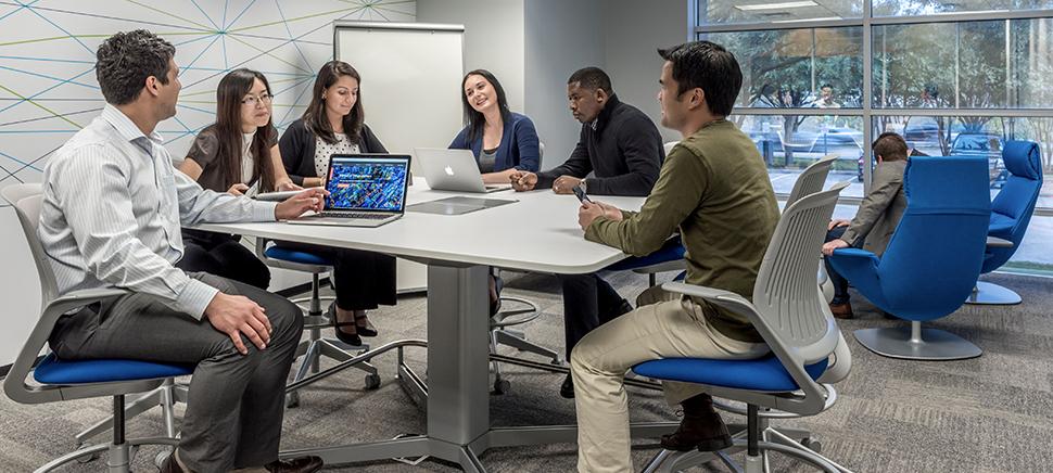IBM's collaboration space.