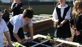 Prestonwood Students Dig in the Dirt for STEM