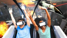 Six Flags Turns Rollercoasters into 3-D Thrill Rides