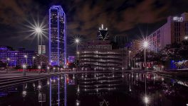 How Dallas' Skyline Turned Purple for Innovation