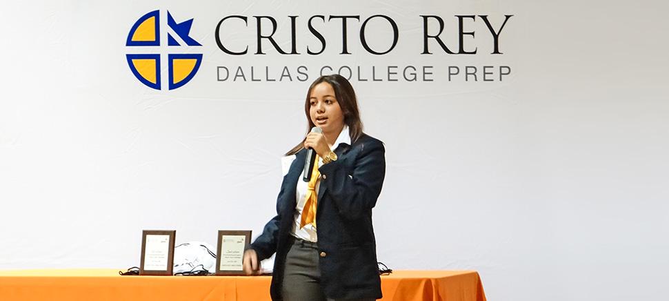 Photo courtesy of Cristo Rey Dallas College Preparatory School