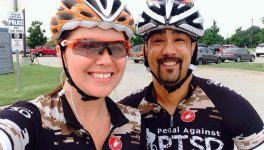 Group Helps Veterans Cope With PTSD Through Cycling