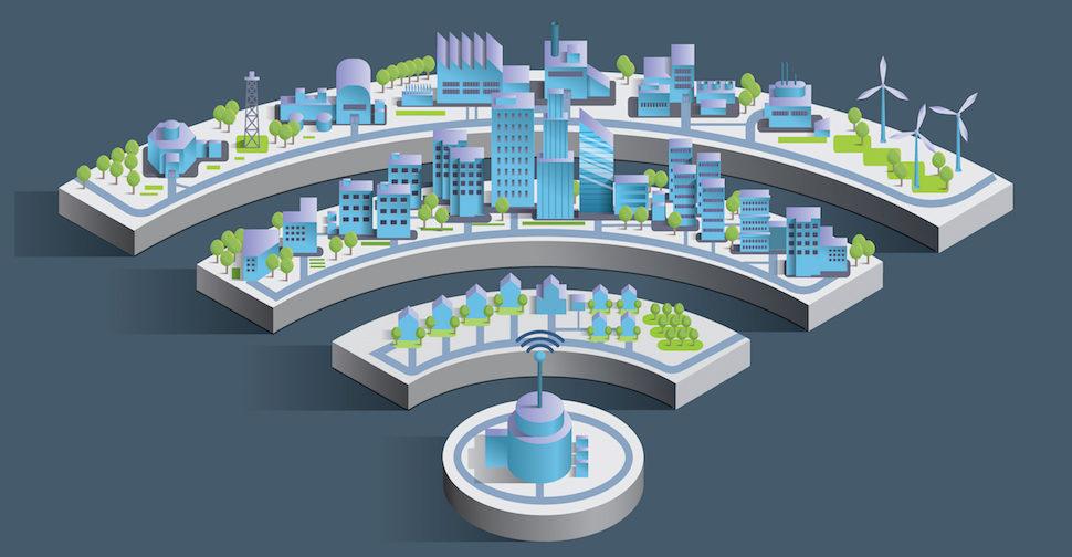 Smart City Grid Verizon