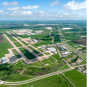 Fort Worth Alliance Airport. Photo courtesy of AllianceTexas.