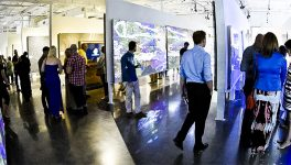 < Art/Code > Event Lights Up with Digital Art at Dallas Gallery