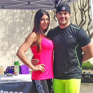 Lewisville Vegan Couple Jasmine Marie and Fabrice Ortiz at the first V Market in January.
