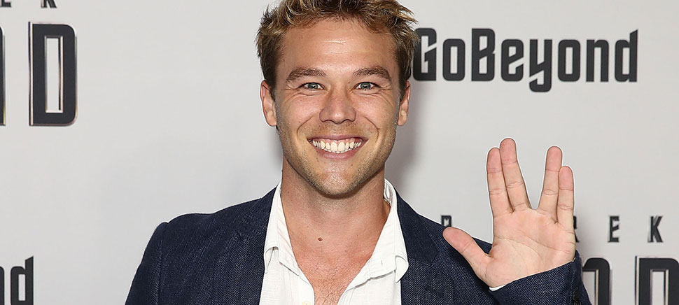 Lincoln Lewis at the Star Trek Beyond Australian Premiere. [Photo: Cameron Spencer/Getty Images for Paramount Pictures]