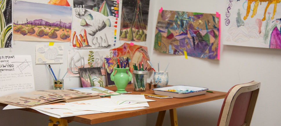 Sunset Art Studios; artists