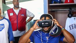 Texas Rangers VR Experience Puts Fans <br> in the Batter&#8217;s Box