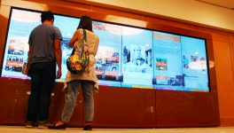 Dallas Library Archives Adds High-Tech Digital Wall
