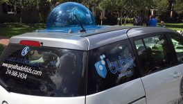 Bubbl Shuttle Service Puts Police Officers Behind the Wheel