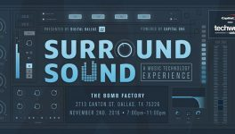 FOCUS3D: Video Mapping, Music Collide at Surround Sound