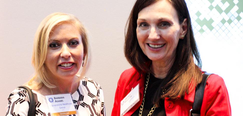 Executive Host Barbara Adams, CIO, Cornerstone Healthcare Group and Quincy Preston of Dallas Innovates