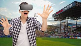 900lbs of Creative VR Soccer Game Puts You in Goal