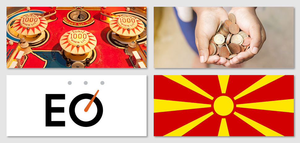 pinball school, #givingTuesday, Entrepreneurs' Organization, Macedonian Ambassador to US