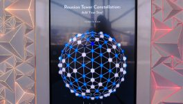 'Constellation' Takes Reunion Tower Interactive
