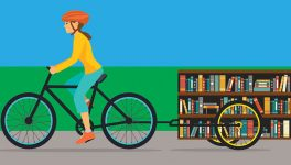 Dallas Library, Deep Ellum Shop Team Up for 'Bookbike'