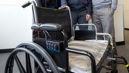 UNT Researchers Develop Cooling Cushion to Prevent Ulcers for People in Wheelchairs