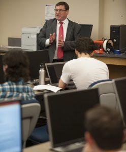 Lyle Faculty Duncan MacFarlane Entrepreneurship Class