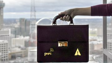 PwC briefcase