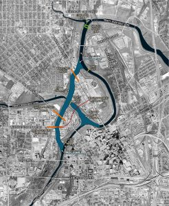 Map of Trinity River Promenade_970_18BIG GREEN - PANTHER ISLAND Fort Worth, Texas