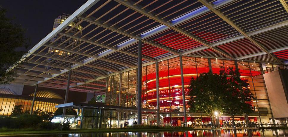 The Winspear Opera House in Dallas, Texas