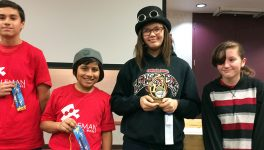 Cedar Hill Students Invent <BR/>&#8216;Robot Seeing-Eye Dog&#8217; Cane