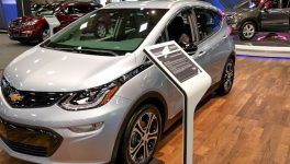 Chevy Bolt EVs, Teen Driver Tech<br/> Put Charge in Auto Show