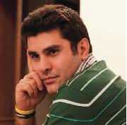 Playwright Nassim Soleimanpout [ Photo: Nima Soleimanpout ]