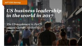 Survey: How U.S. CEOs Plan to Grow in 2017 and Beyond