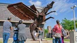 Walkers See STEM Concepts in Dallas Arts District