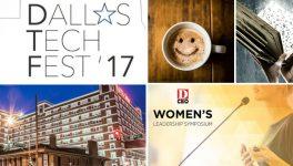 On Tap: Dallas Tech Fest, McKinney Book Festival & Women's Leadership Symposium