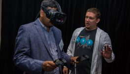 Accenture Immerses Tech Lounge Visitors in VR, AR Experiences