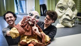 Popcorn and Politics: DTC's 'Hood' Gives Puppets Life Through Repurposed Items